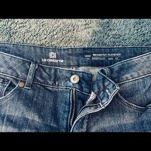 Liz Claiborne light wash-blue Jeans